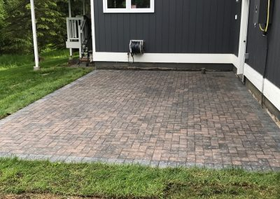 Patio Install Finished