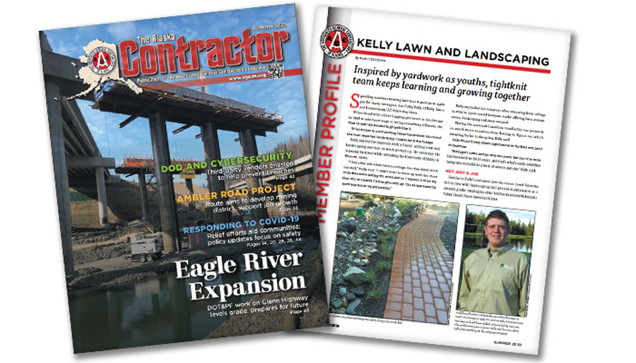 The Associated General Contractors Magazine Article about Kelly Lawn and Landscaping